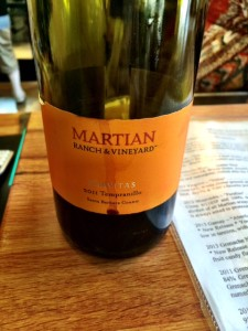 Martian Ranch Tempranillo