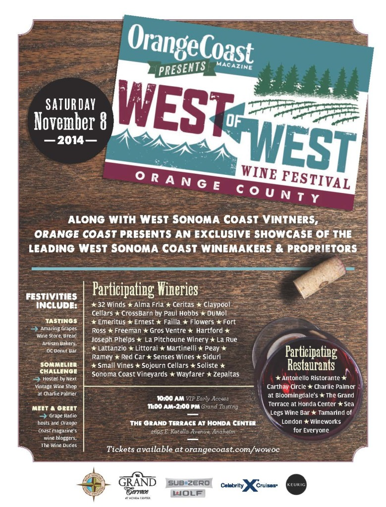 Wine of the West Festival