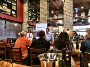 Austrian Wine tasting hosted by Willi Klinger, Managing Director of the Austrian Wine Marketing Board, and Patrick Farrell, MW.