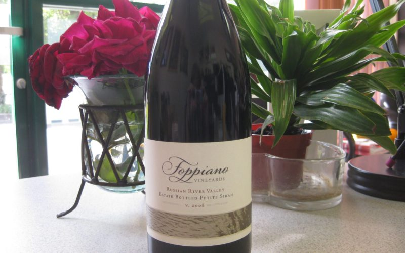 Foppiano Vineyards 2008 Petite Sirah