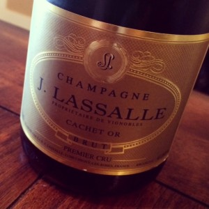 """J. Lassalle """"Cachet d'Or"""" Premier Cru Brut Champagne"""