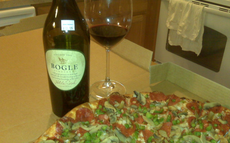 Wednesday Night Wine- Bogle 2008 Petite Sirah