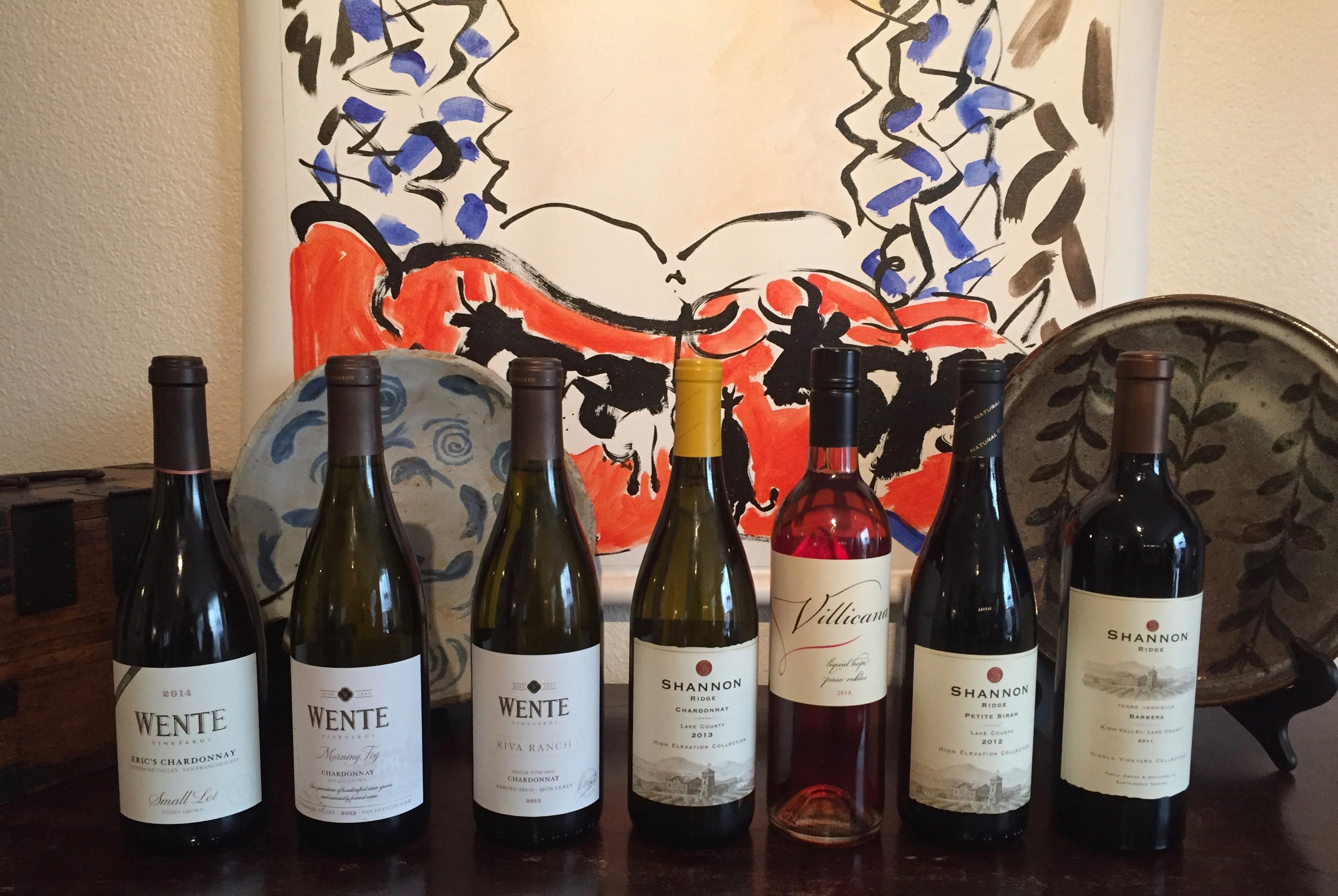 A Few Notes from My Petite Sirah Tasting Journey