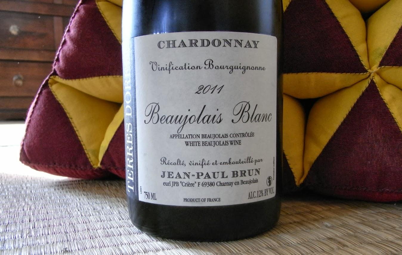 A Balanced Beaujolais Blanc- Jean-Paul Brun Beaujolais Blanc 2010