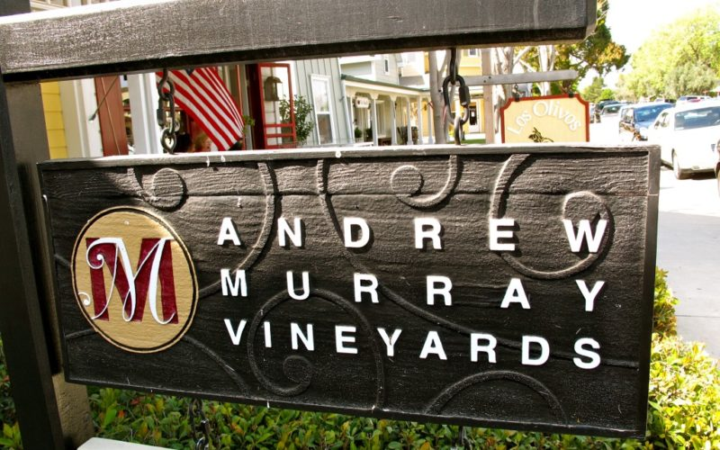 A Los Olivos Tasting Room You Don't Want to Miss- Andrew Murray Vineyards