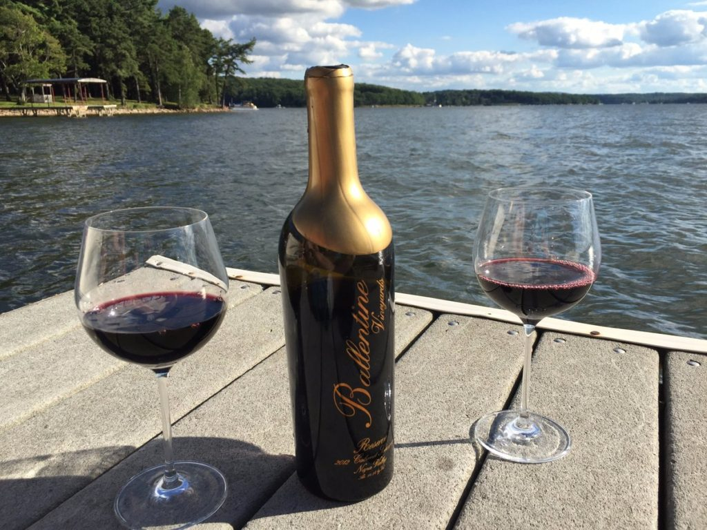 Mini-Review – Ballentine Vineyards 2010 Napa Valley Petite Sirah