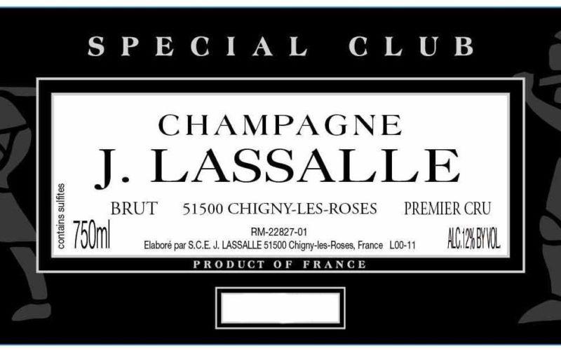 "Pop the Champagne – J. Lassalle ""Cachet d'Or"" Premier Cru Brut Champagne"