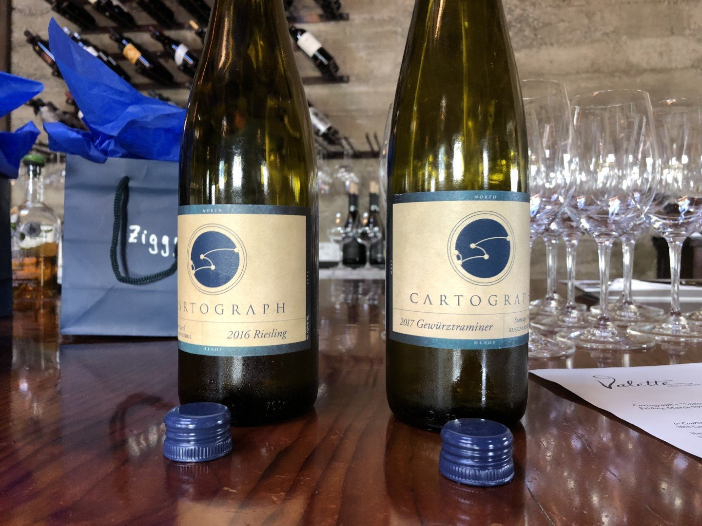 Cartograph 2012 Floodgate Vineyard Gewürztraminer